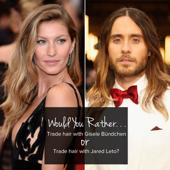 And Now For Would You Rather? Celebrity Edition