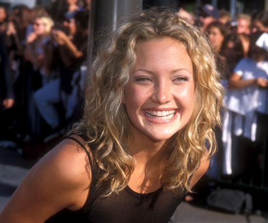 Kate Hudson glowed in the LA sun on the red carpet in 1998.