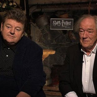 Harry Potter Interview With Robbie Coltrain and Michael Gambon