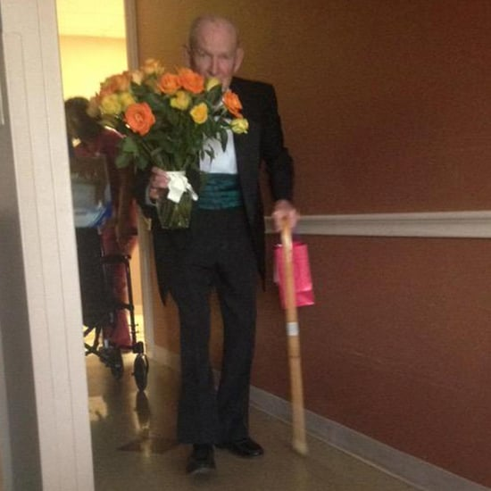 Man Surprises Wife in Hospital on 57th Anniversary