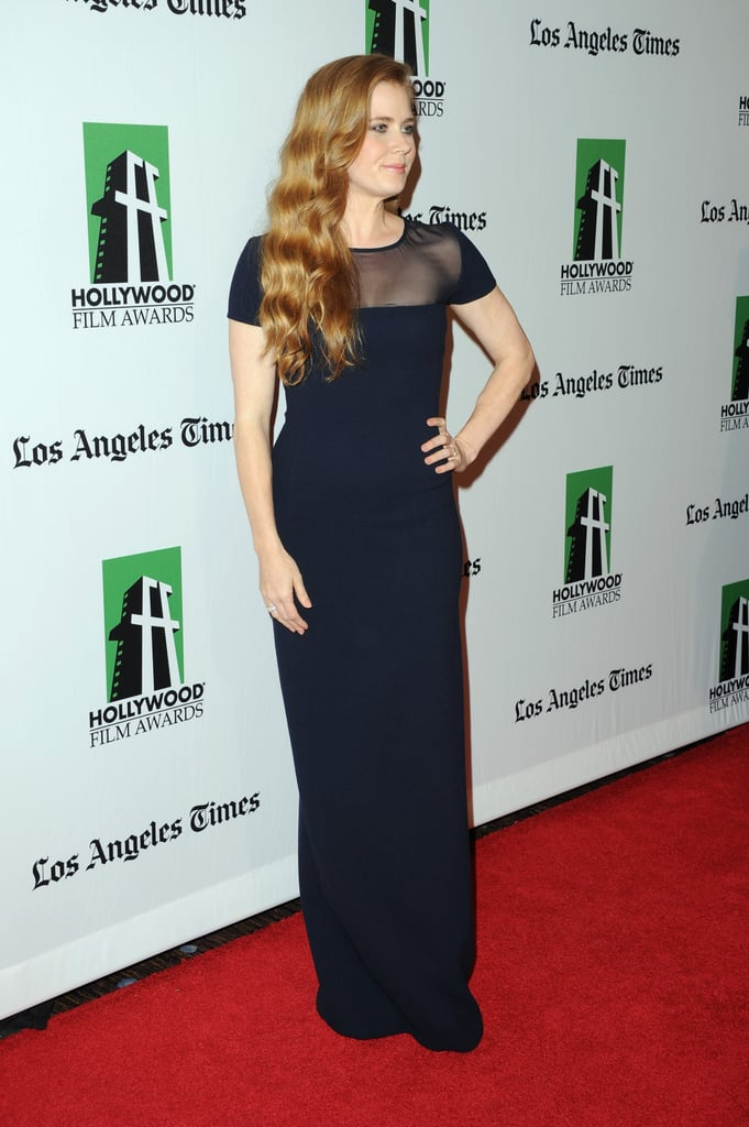 Amy Adams stepped out in Los Angeles for the Hollywood Film Awards gala.