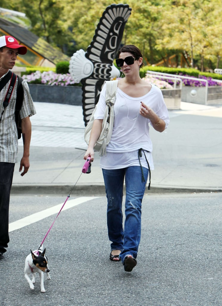 Photos of Peter Facinelli Nikki Reid and Ashley Greene in Vancouver