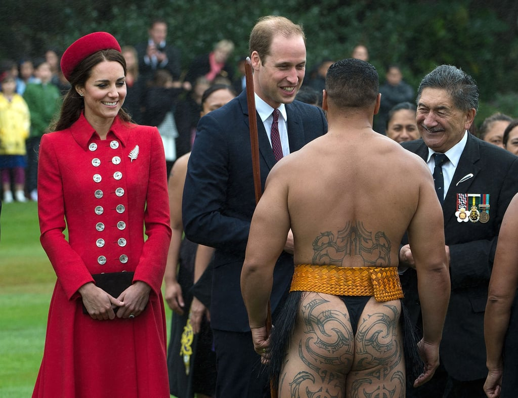 Prince William and Kate Middleton Get Traditional in New Zealand