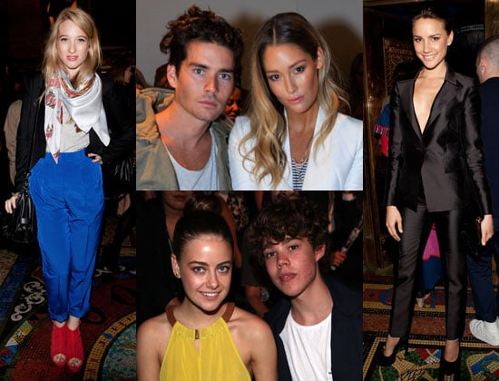 Pictures of Front Row Celebrities From 2011 RAFW at camilla and marc