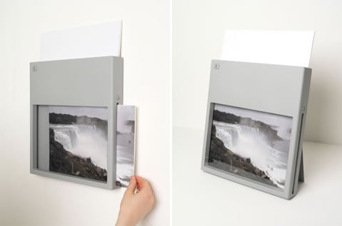 Wall-Mountable Wireless Printer