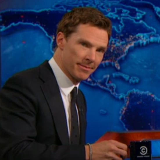 Benedict Cumberbatch on The Daily Show With Jon Stewart