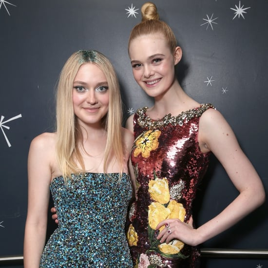 Elle and Dakota Fanning at the Neon Demon Premiere 2016