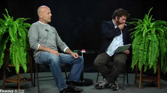 Bruce Willis on Between Two Ferns With Zach Galifianakis