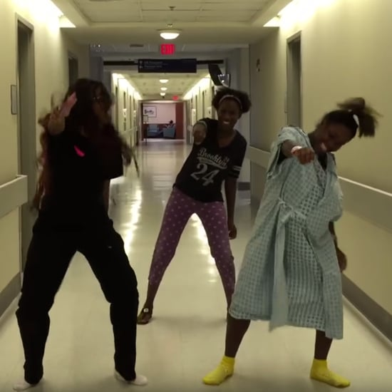 Mom in Labor Dances to Watch Me Whip Nae Nae