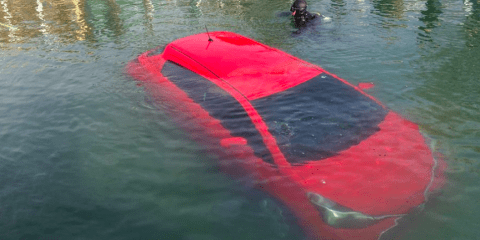 This Woman Followed Her GPS Into a Lake, But She Escaped Like a Badass