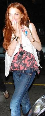 Celeb Style: Lindsay Lohan