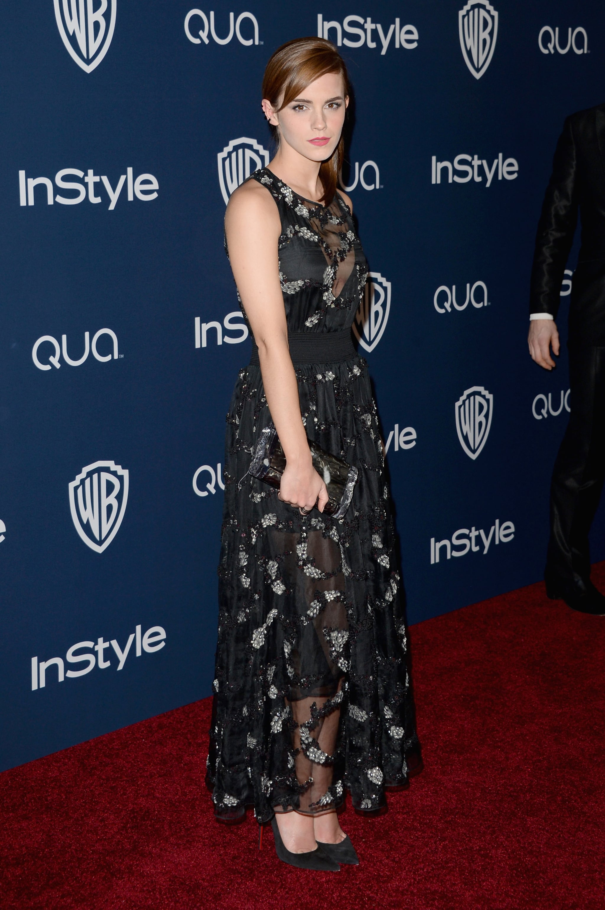 Emma Watson at the InStyle Golden Globes Afterparty