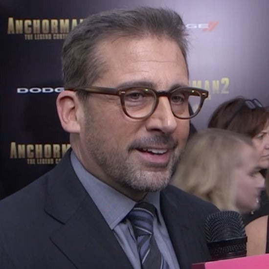 Steve Carell Interview at Anchorman 2 Premiere   Video
