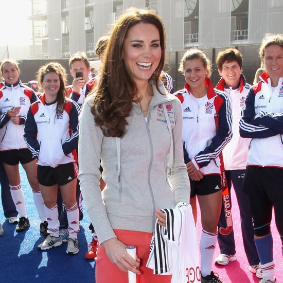 Kate Middleton Playing Hockey Olympic Park Pictures