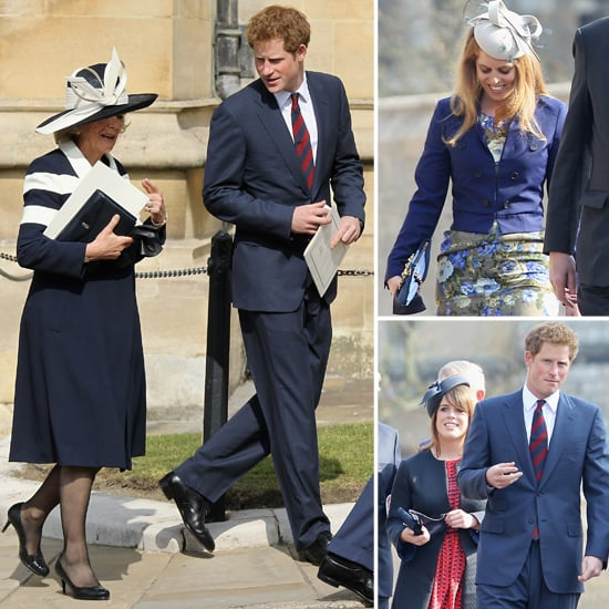 Prince Harry Honors His Late Great Grandmother at Mass With His Royal Family