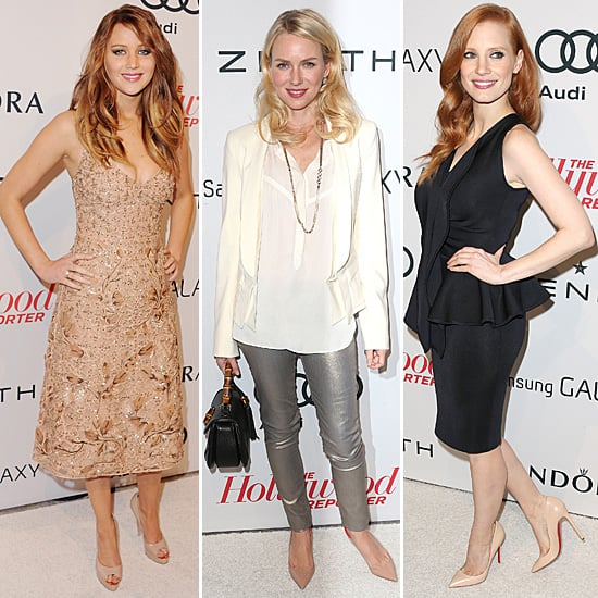 Jessica Chastain at Hollywood Reporter Party (Pictures)