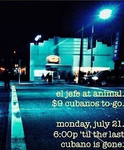 Another El Jefe Pop-Up; Eat Drink SF's Chronicle Class
