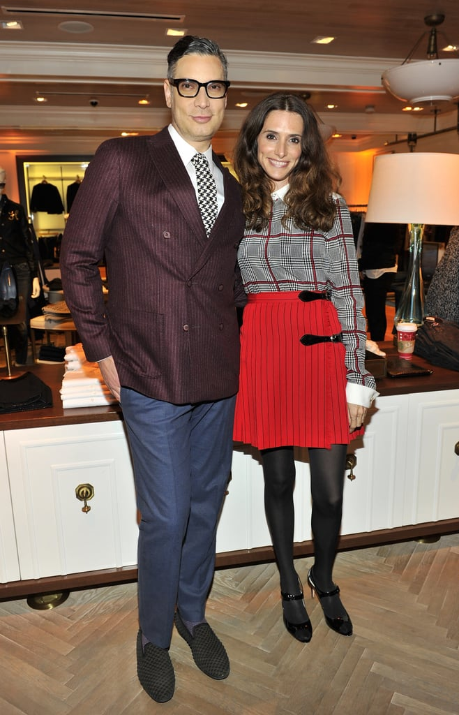 Cameron Silver and Elizabeth Stewart at the Tommy Hilfiger and PS Arts celebration of the Cameron Silver capsule collection.
