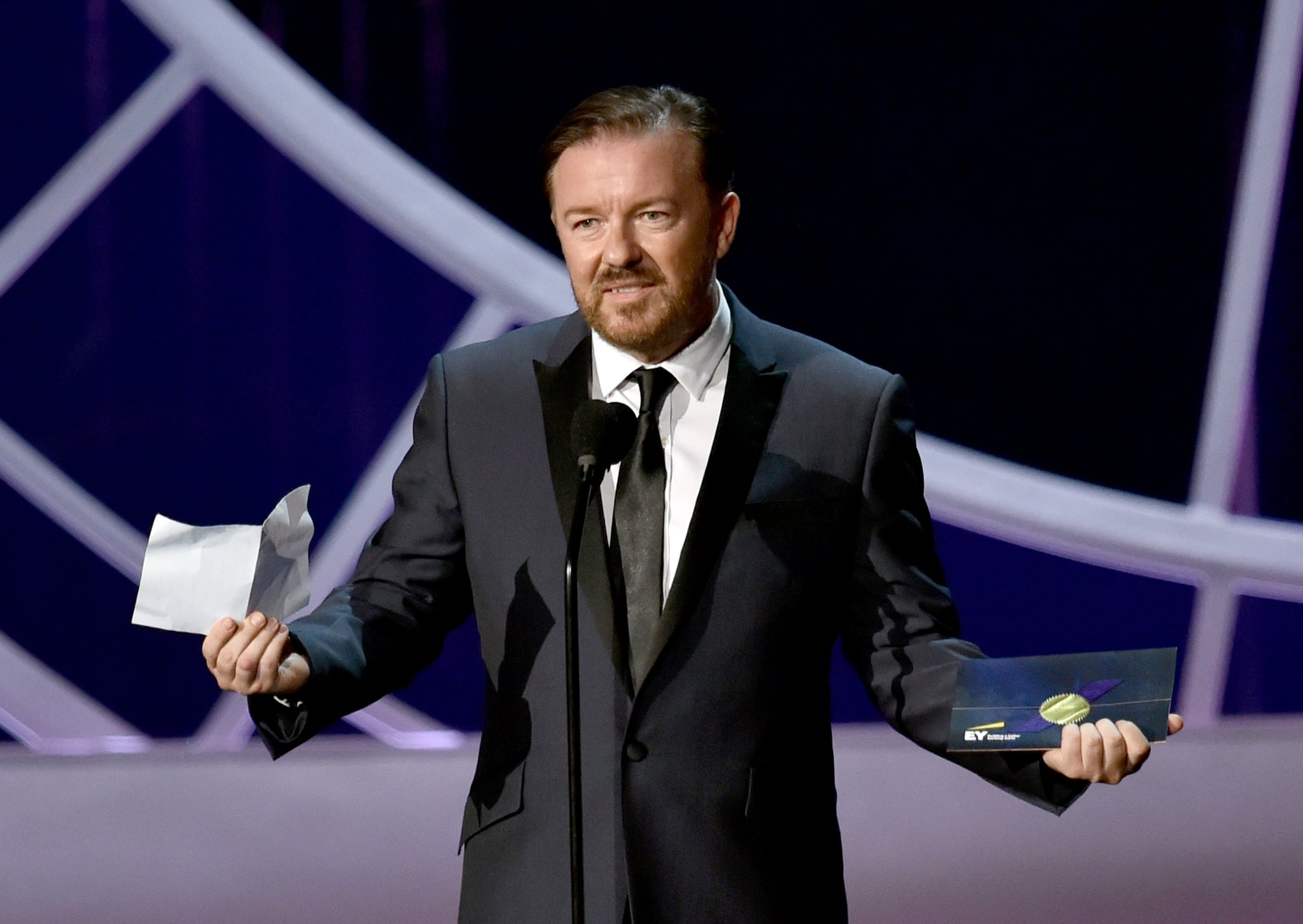 Ricky Gervais's Never-Used Acceptance Speech