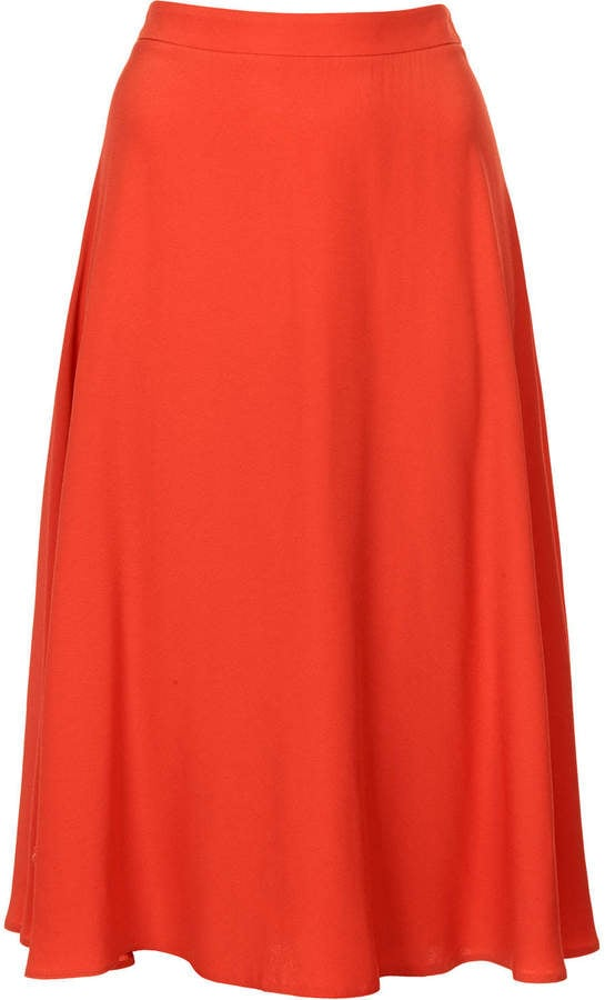 Topshop Full Circle Skirt