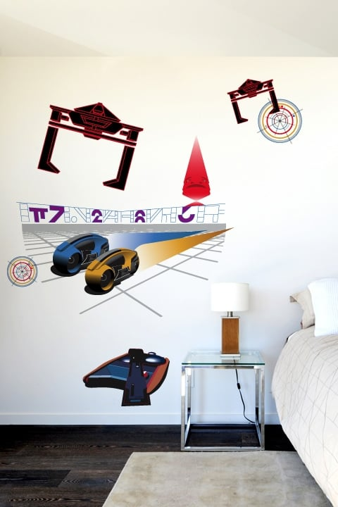 Four Awesome Tron and Tron: Legacy Wall Decals From Blik