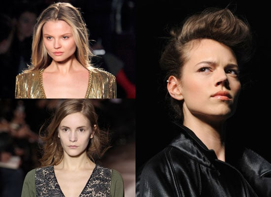 Minimal Makeup on Catwalks for Autumn 2010
