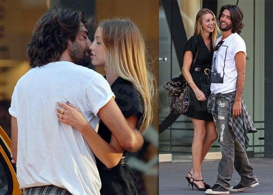 Photos of Whitney Port of The Hills At Diane von Furtsenburg Kissing a New Guy