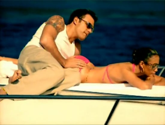 """Ben Affleck and Jennifer Lopez were on a boat for her 2002 video for """"Jenny From the Block."""""""