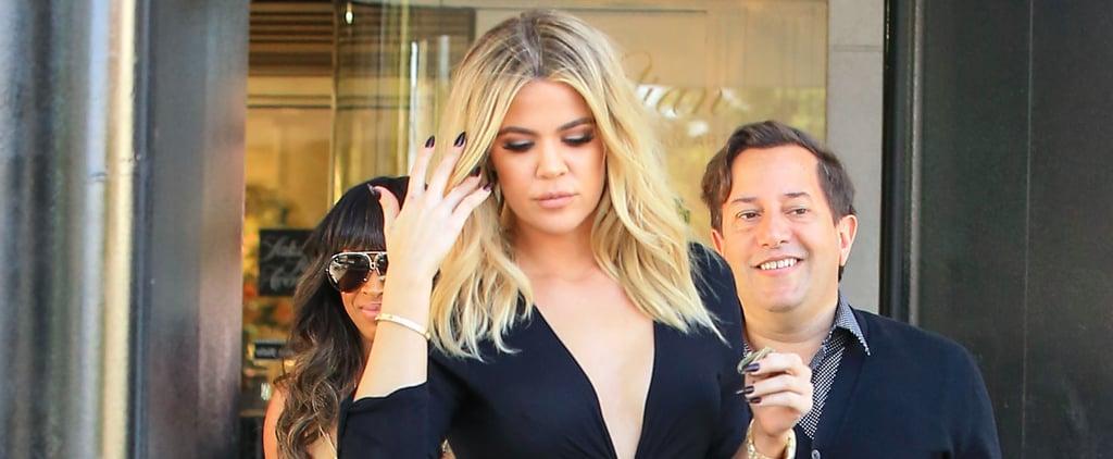 Khloé Kardashian Rocks a Skin-Baring Look For an LA Shopping Trip