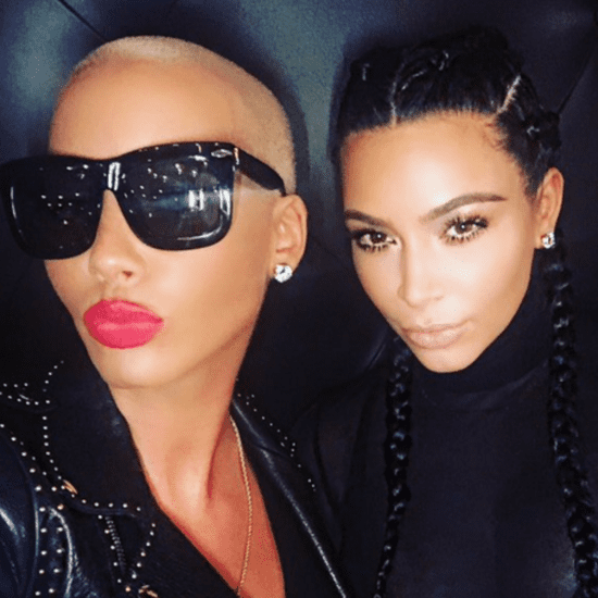 Kim Kardashian and Amber Rose Selfie February 2016