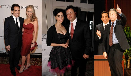 Photos of Jimmy Kimmel and Sarah Silverman With Jon Stewart, Ben Stiller and More at Tomorrow is Tonight Gale