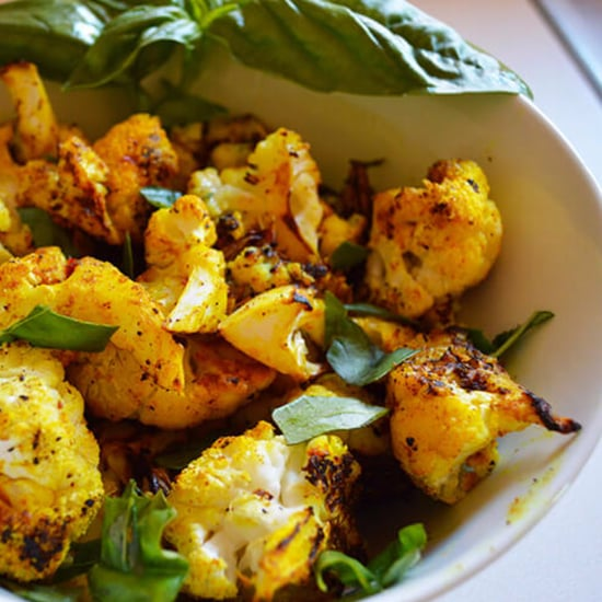 Roasted Turmeric Cauliflower Recipe