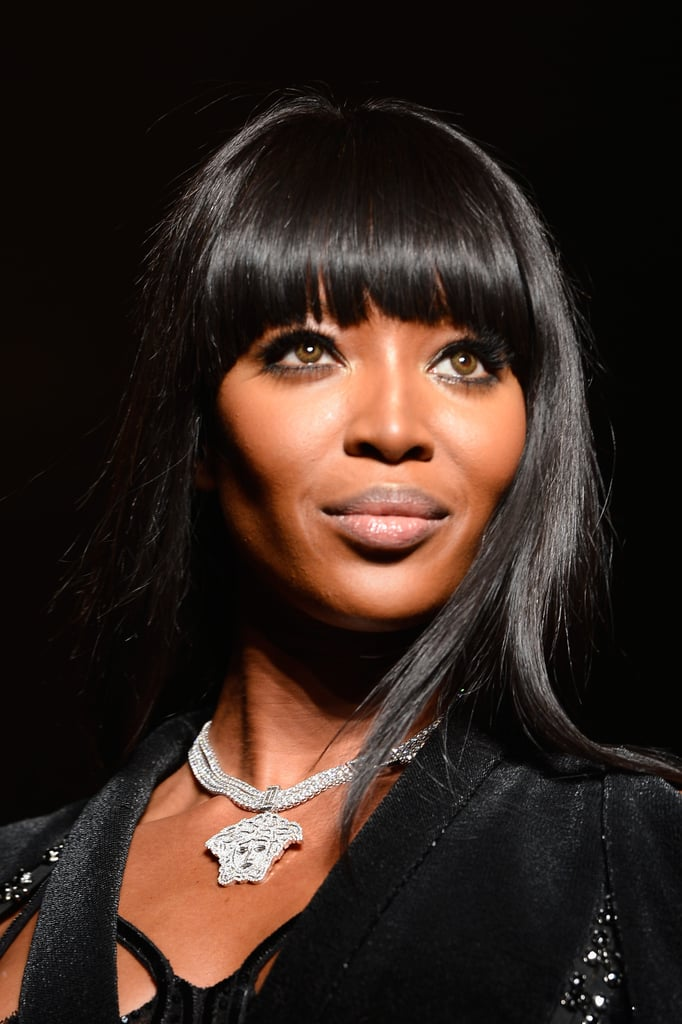 Straight From Paris: Naomi Campbell Leads a Chic Army at Versace