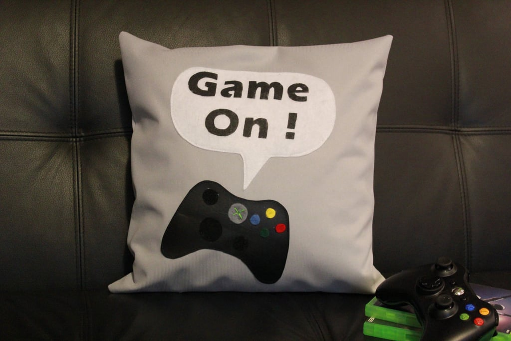 Game On Pillow Cover
