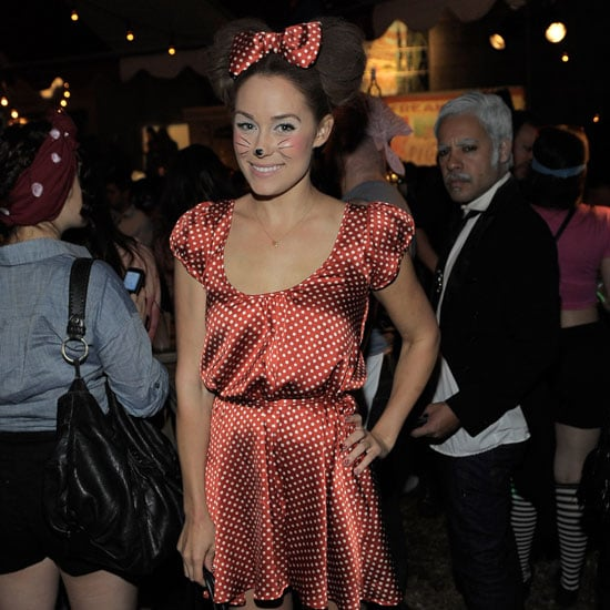 Lauren Conrad Minnie Mouse on Halloween Pictures