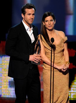 Quotes From Sandra Bullock and Ryan Reynolds at the 2010 People's Choice Awards 2010-01-06 19:39:30