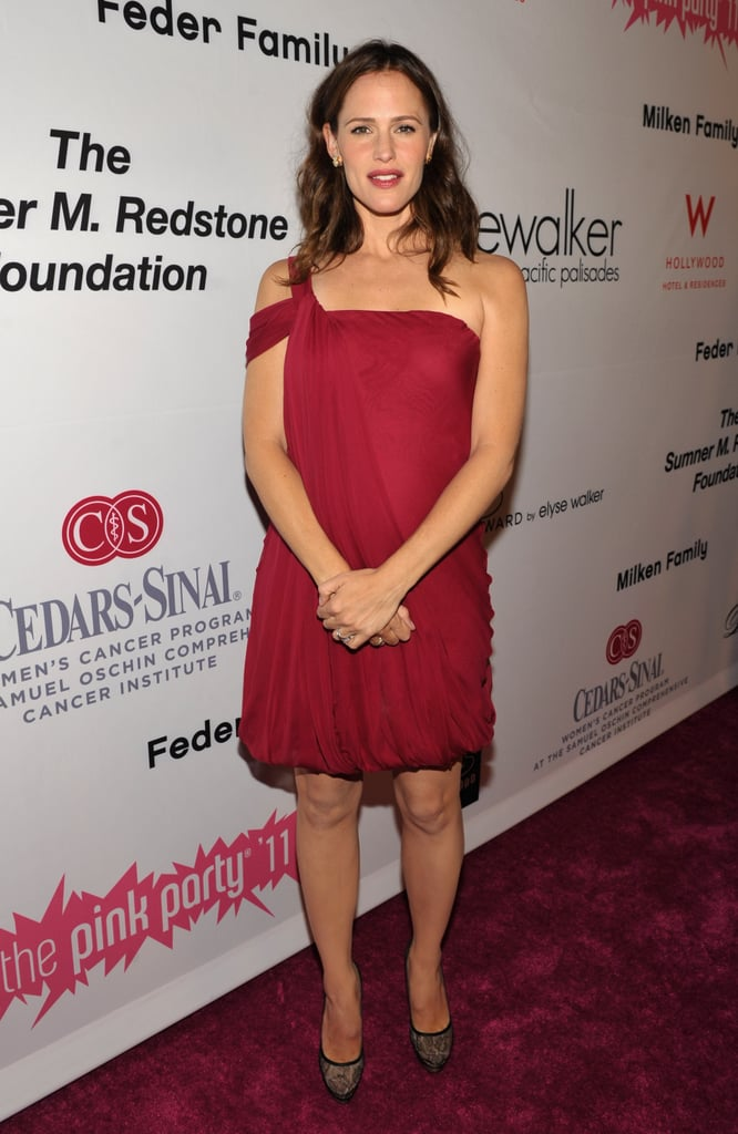Jennifer Garner hosted the benefit.