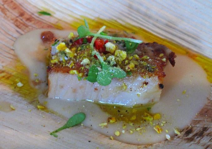 Best New Chef Dish: Lamb Belly With Clam Vinaigrette