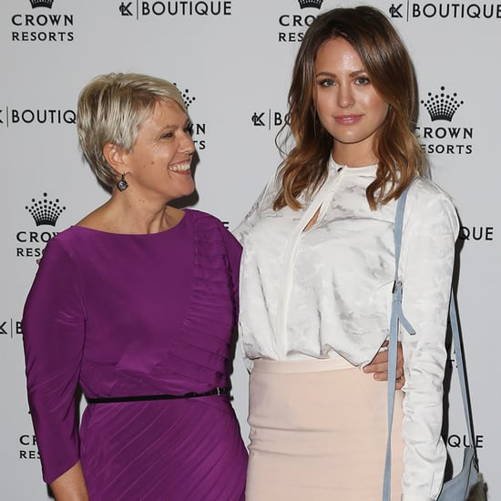 Australian Celebrities With Their Mums At Mother's Day Lunch