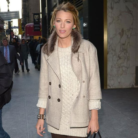 Blake Lively Leaving a Meeting in NYC