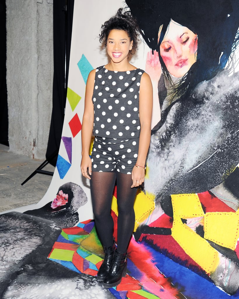 Hannah Bronfman at the Alice + Olivia by Stacey Bendet Night of Fashion, Art, and Disco Dancing.