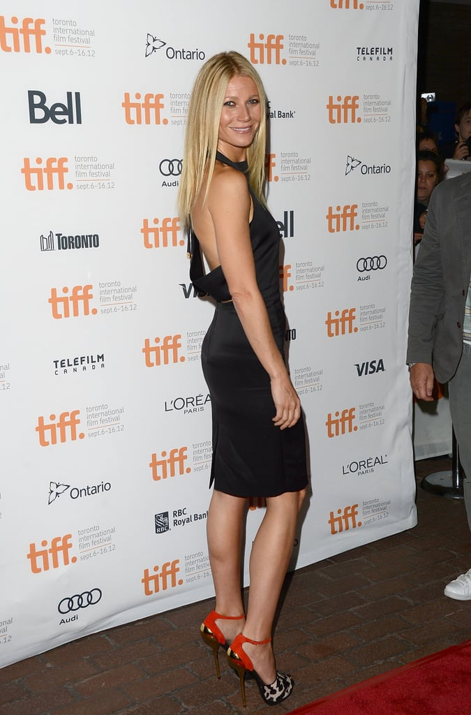 Gwyneth Paltrow donned a sexy backless dress to hit the red carpet at the festival in 2012, where she did press for her film Thanks For Sharing.