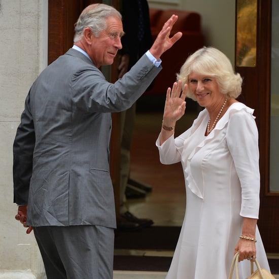 Prince Charles and Middletons Visit Royal Baby in Hospital