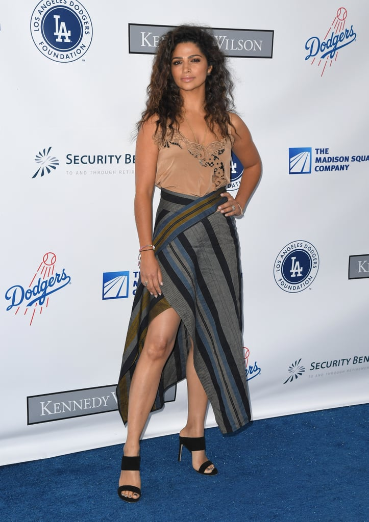 Camila Alves's Wrap Skirt