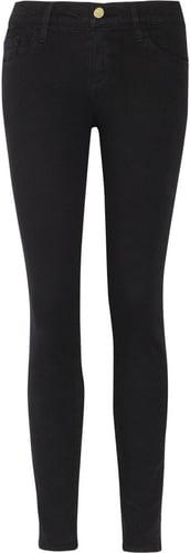 Frame Denim Le Color Crop mid-rise skinny jeans