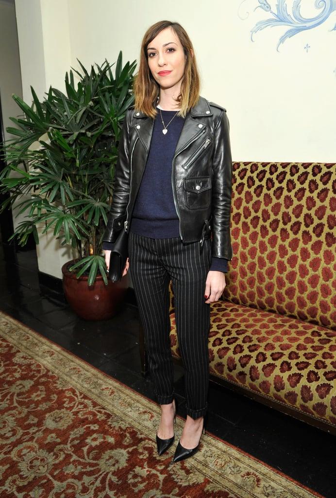 Gia Coppola at W magazine's Golden Globes party.