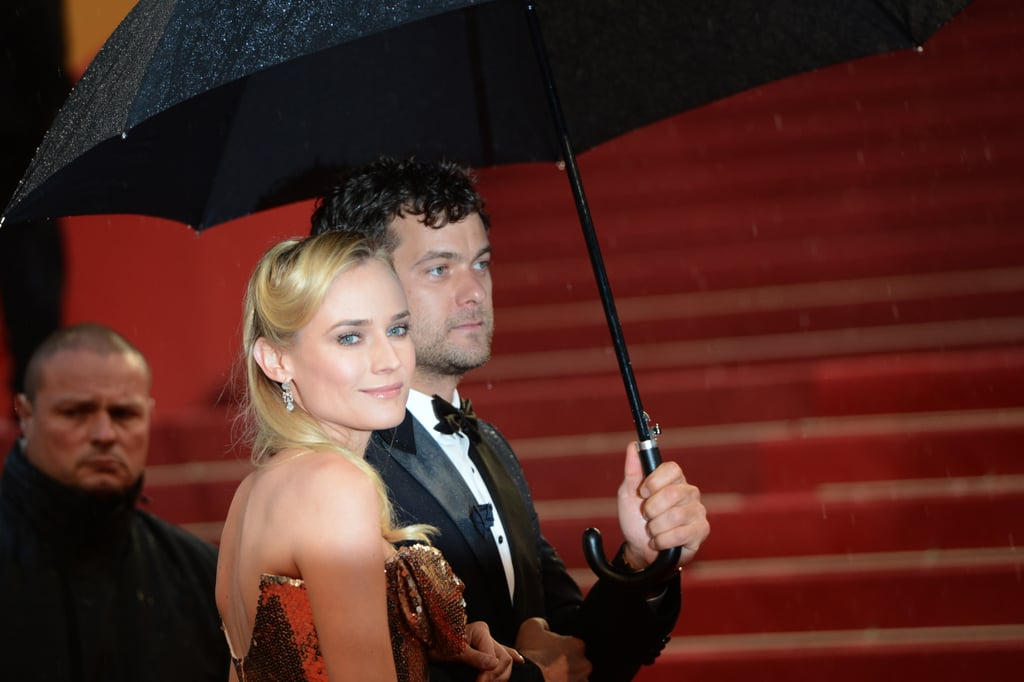 Diane Kruger and Joshua Jackson in 2012