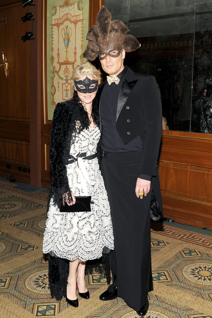 Julie Macklowe and Cameron Silver at the Save Venice Ball in New York. Photo: Billy Farrell BFAnyc.com