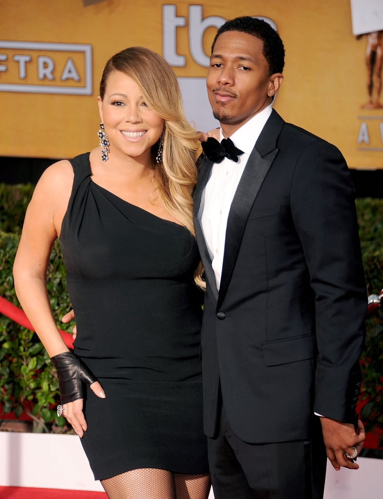 Mariah Carey and Nick Cannon linked up for the SAG Awards.