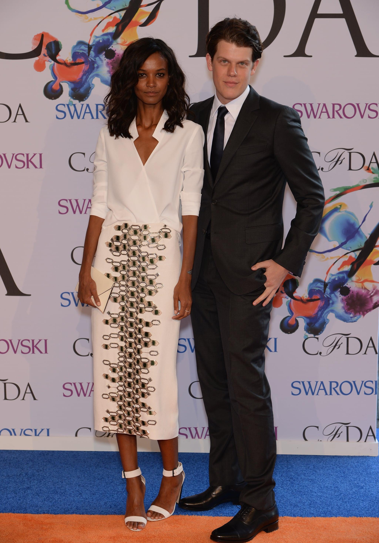 Liya Kebede at the 2014 CFDA Awards